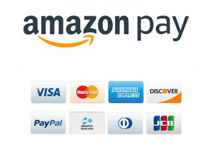 Loghi pagamenti e amazon pay