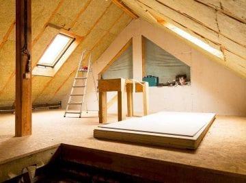 Isolamento tetto dall'interno: mansarda