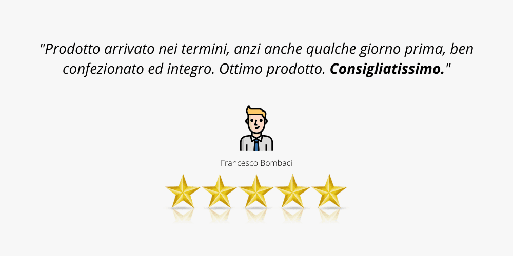 recensione cliente 1