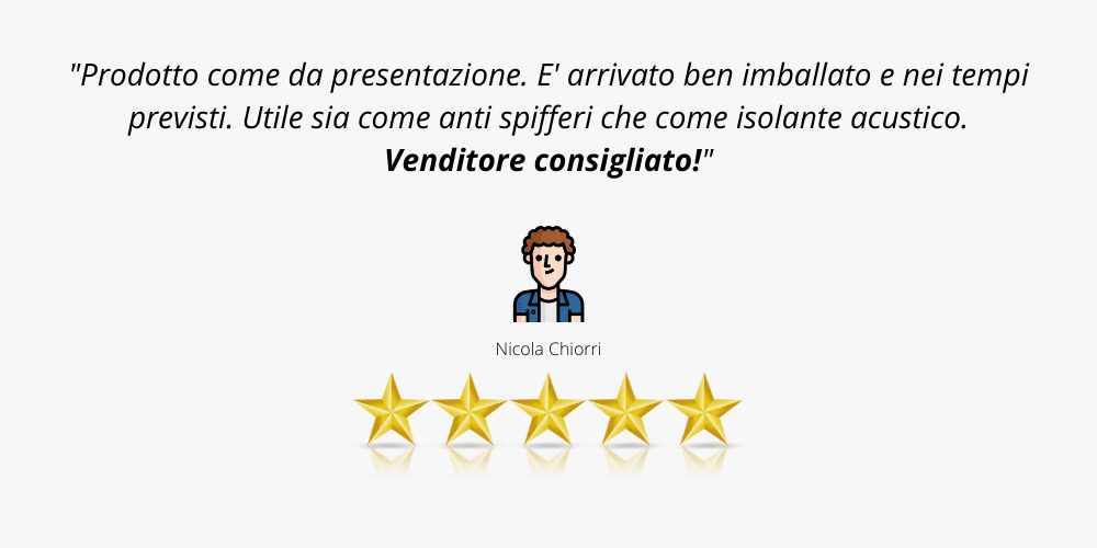 recensione cliente 6