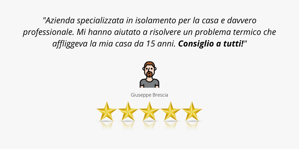 recensione cliente 8