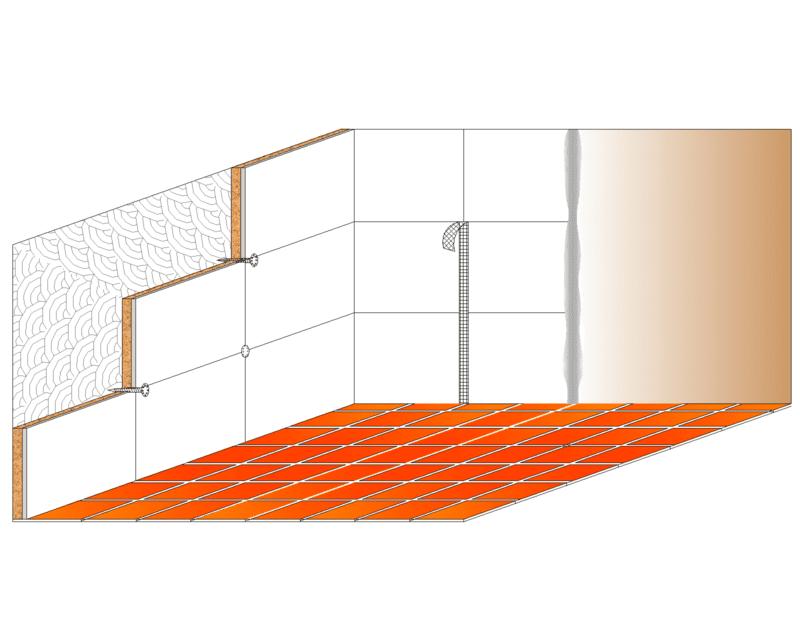 Pannello hydro preaccoppiato sughero superiore 20 mm - Isolamento acustico interno ...