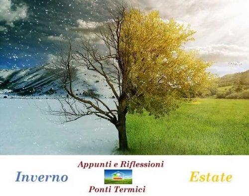 Albero raffigurante gli sbalzi termici di estate ed inverno