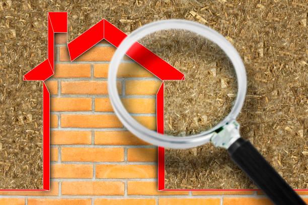immagine rappresentante una lente d'ingrandimento sulla dispersione termica della casa