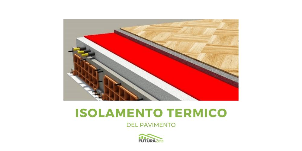 rendering per isolamento termico del pavimento futurazeta