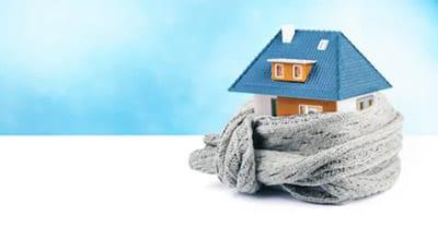 casa con un buon isolamento termico
